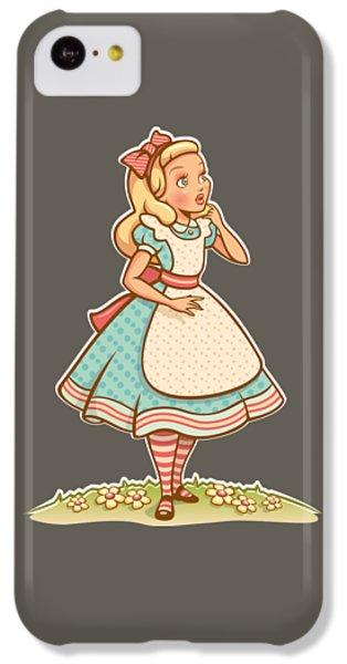 Alice IPhone 5c Case by Elizabeth Taylor