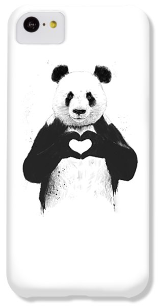 All You Need Is Love IPhone 5c Case by Balazs Solti
