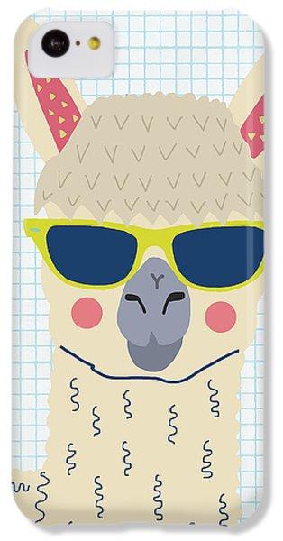Alpaca IPhone 5c Case by Nicole Wilson