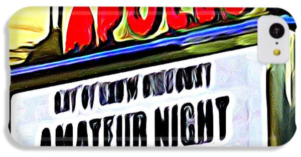 Amateur Night IPhone 5c Case by Ed Weidman