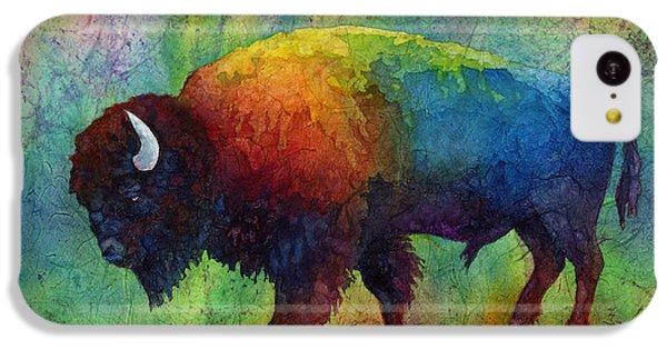 American Buffalo 6 IPhone 5c Case by Hailey E Herrera