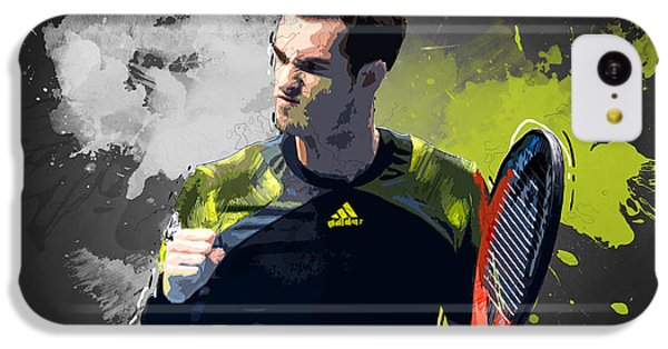 Andy Murray IPhone 5c Case by Semih Yurdabak