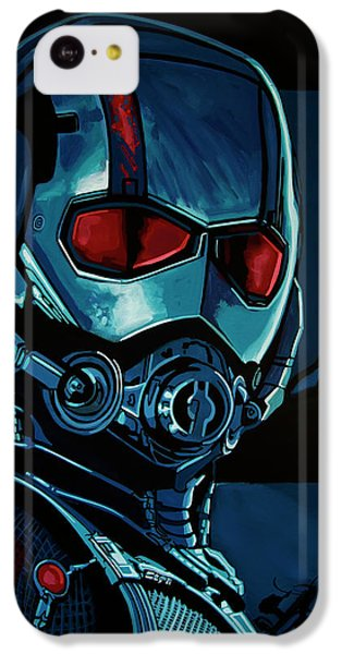 Ant Man Painting IPhone 5c Case by Paul Meijering