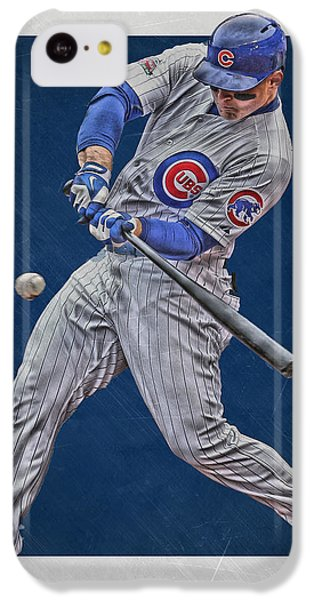 Anthony Rizzo Chicago Cubs Art 1 IPhone 5c Case by Joe Hamilton