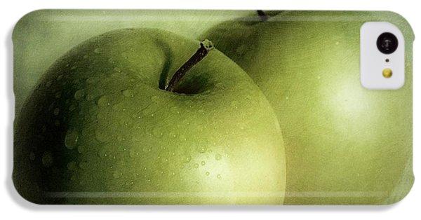 Apple Painting IPhone 5c Case by Priska Wettstein