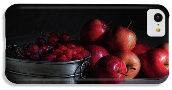 Apples And Berries Panoramic IPhone 5c Case by Tom Mc Nemar