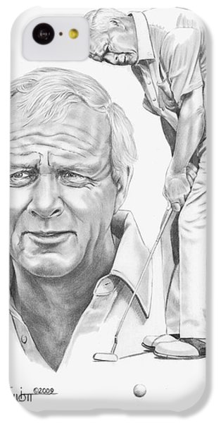 Arnold Palmer IPhone 5c Case by Murphy Elliott