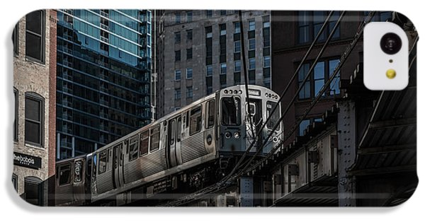 Around The Corner, Chicago IPhone 5c Case by Reinier Snijders