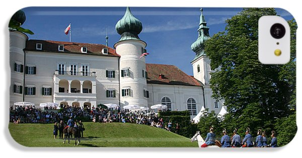 IPhone 5c Case featuring the photograph Artstetten Castle In June by Travel Pics