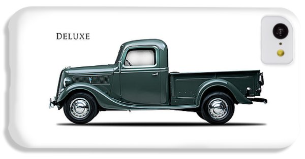Ford Deluxe Pickup 1937 IPhone 5c Case by Mark Rogan