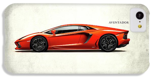 Lamborghini Aventador IPhone 5c Case by Mark Rogan