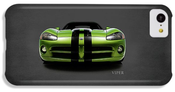 Dodge Viper IPhone 5c Case by Mark Rogan