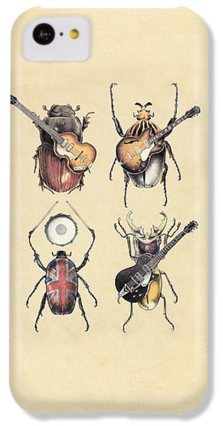 Meet The Beetles IPhone 5c Case by Eric Fan