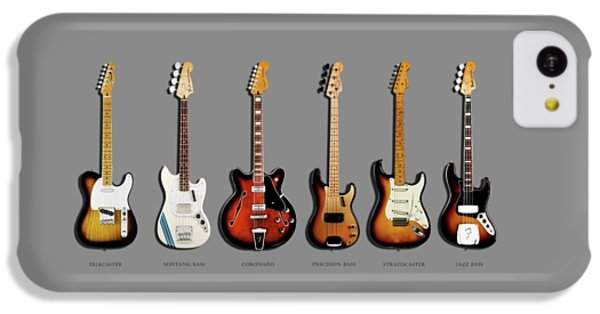 Fender Guitar Collection IPhone 5c Case by Mark Rogan