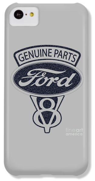 Ford V8 IPhone 5c Case by Mark Rogan