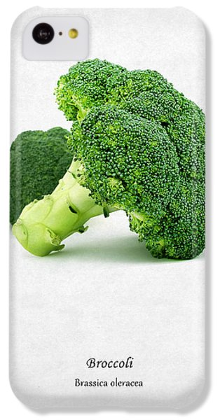 Broccoli IPhone 5c Case by Mark Rogan