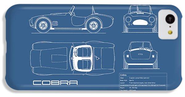 Ac Cobra Blueprint IPhone 5c Case by Mark Rogan