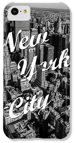 New York City IPhone 5c Case by Nicklas Gustafsson