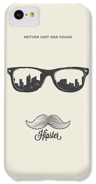 Hipster Neither Lost Nor Found IPhone 5c Case by Bekare Creative