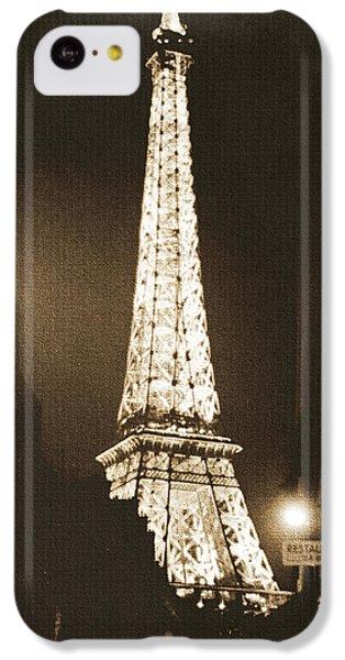 Postcard From Paris- Art By Linda Woods IPhone 5c Case by Linda Woods