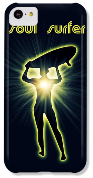 Soul Surfer IPhone 5c Case by Mark Ashkenazi
