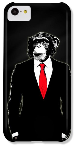 Domesticated Monkey IPhone 5c Case by Nicklas Gustafsson
