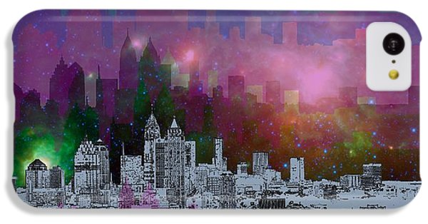 Atlanta Skyline 7 IPhone 5c Case by Alberto RuiZ