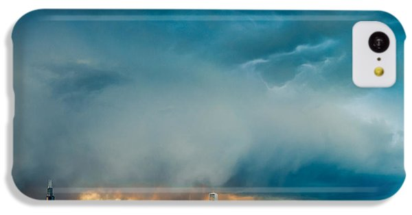 Attention Seeking Clouds IPhone 5c Case by Cory Dewald