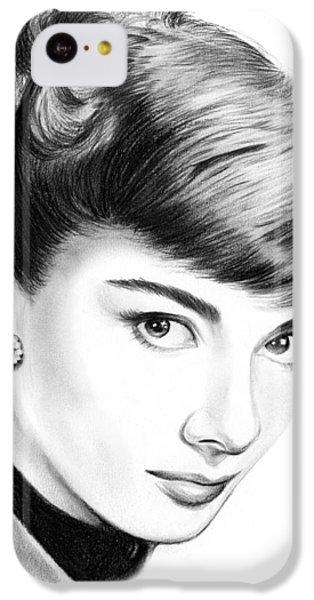 Audrey Hepburn IPhone 5c Case by Greg Joens
