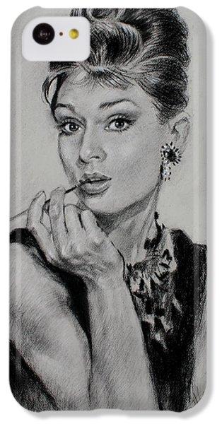 Audrey Hepburn IPhone 5c Case by Ylli Haruni