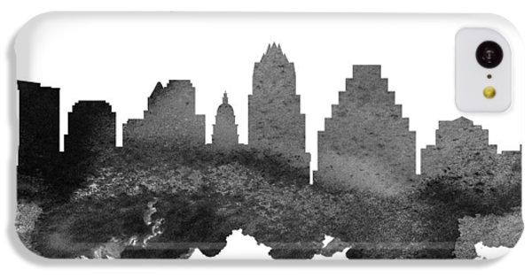 Austin Texas Skyline 18 IPhone 5c Case by Aged Pixel