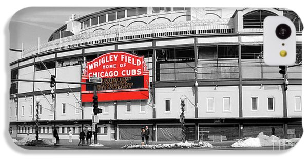 B-w Wrigley 100 Years Young IPhone 5c Case by David Bearden