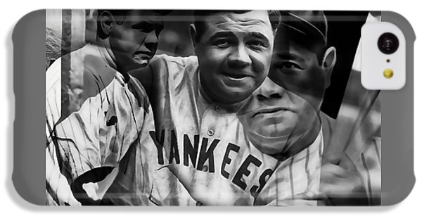 Babe Ruth Collection IPhone 5c Case by Marvin Blaine