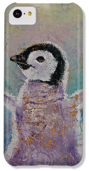 Baby Penguin IPhone 5c Case by Michael Creese