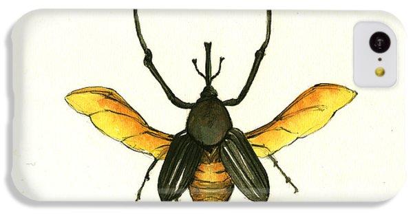 Bamboo Beetle IPhone 5c Case by Juan Bosco