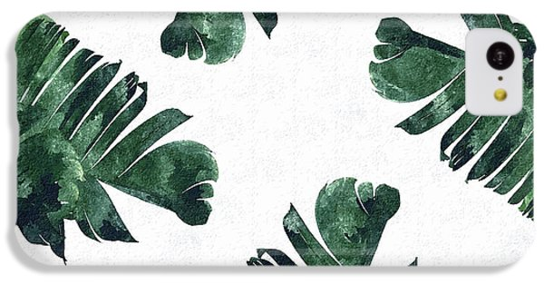 Banan Leaf Watercolor IPhone 5c Case by Uma Gokhale