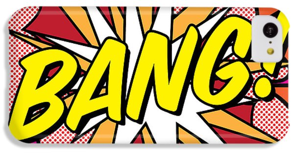 Bang IPhone 5c Case by Gary Grayson