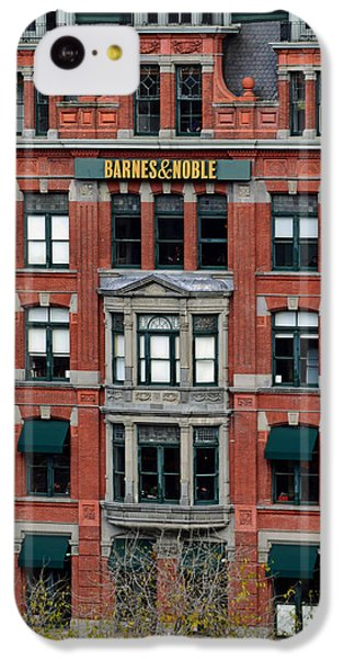 Barnes And Noble Union Square  IPhone 5c Case by Sandy Taylor