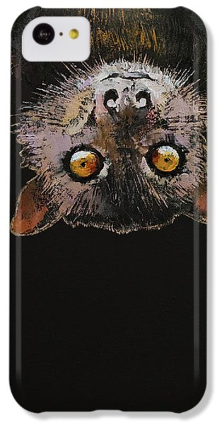Bat IPhone 5c Case by Michael Creese