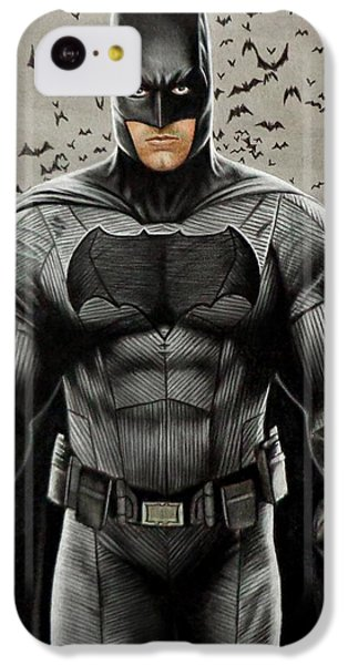 Batman Ben Affleck IPhone 5c Case by David Dias