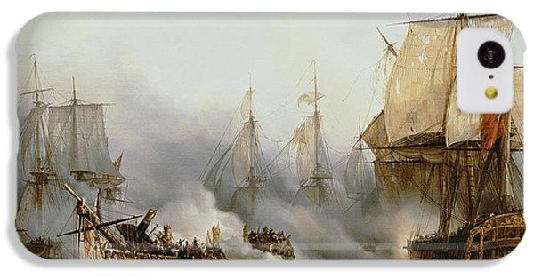 Battle Of Trafalgar IPhone 5c Case by Louis Philippe Crepin