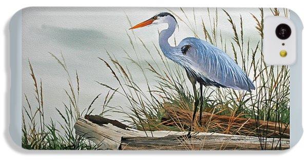 Beautiful Heron Shore IPhone 5c Case by James Williamson