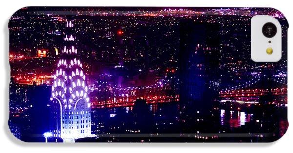 Beautiful Manhattan Skyline IPhone 5c Case by Az Jackson