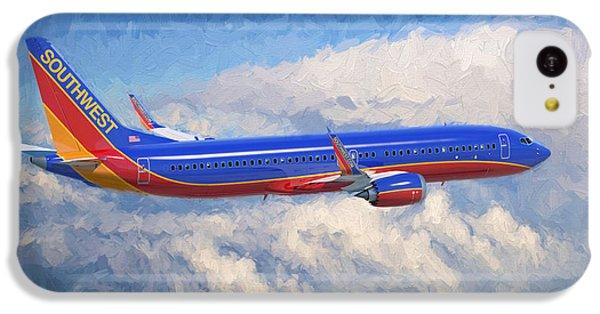 Beauty In Flight IPhone 5c Case by Garland Johnson