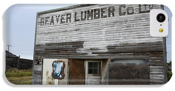 Beaver Lumber Company Ltd Robsart IPhone 5c Case by Bob Christopher
