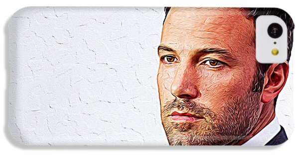 Ben Affleck IPhone 5c Case by Iguanna Espinosa
