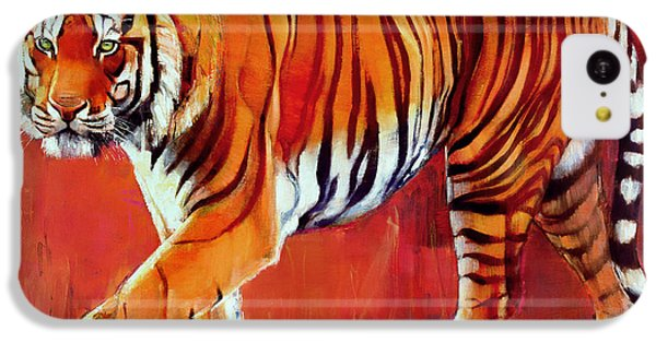 Bengal Tiger  IPhone 5c Case by Mark Adlington