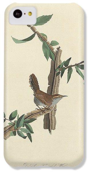 Bewick's Long-tailed Wren IPhone 5c Case by John James Audubon