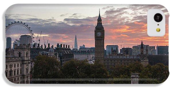 Big Ben London Sunrise IPhone 5c Case by Mike Reid
