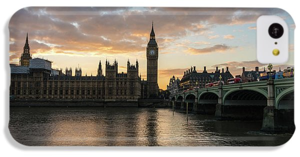 Big Ben London Sunset IPhone 5c Case by Mike Reid